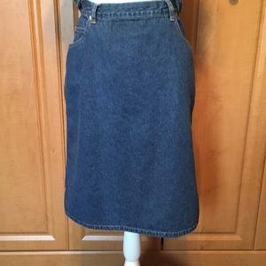 Denim Skirt Size12